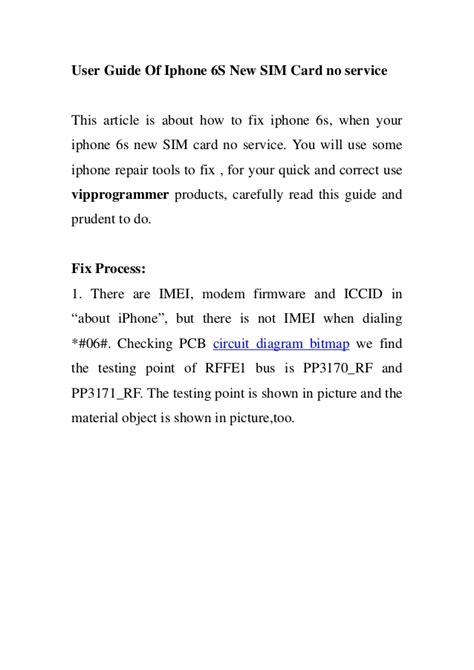 user guide  iphone   sim card  service