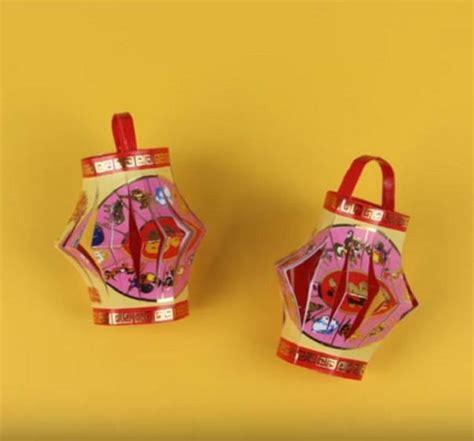 Origami Lantern Box - celebratory diy origami lanterns allfreepapercrafts