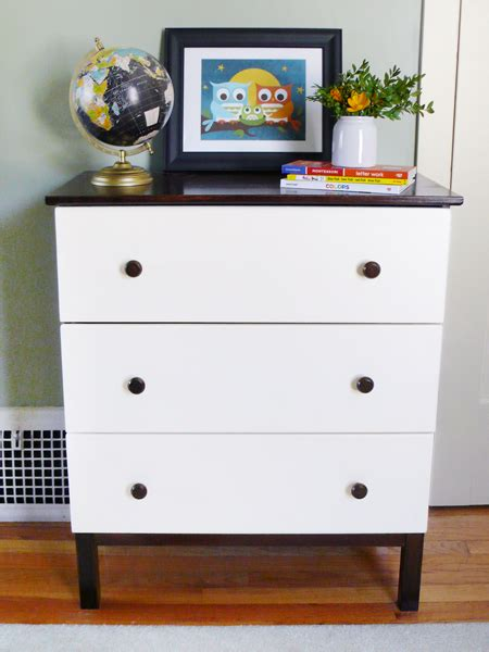 Tarva Nightstand Hack 15 Creative And Quick Diy Tarva Dresser Hacks Shelterness