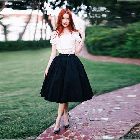Hq 10452 Topskirt aliexpress buy custom made high quality skirts knee