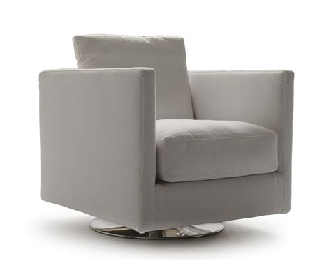 Modern Swivel Armchair by Vibieffe Zone Swivel Armchair Modern Armchairs Modern
