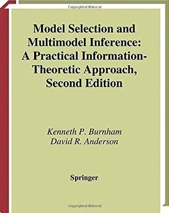 Computer Vision Models Learning And Inference Ebooke Book model selection and multimodel inference a practical information theoretic approach ebook