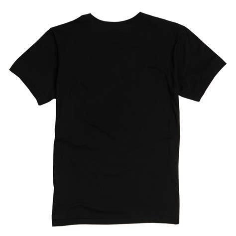 Dx Black Shirt s lettering sleeved neck plain t shirt