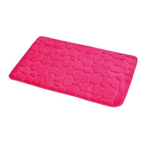 tappeto fucsia tappeto memory galet rosa fucsia tappeto bagno eminza