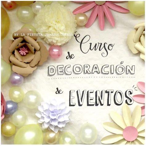cursos de decoracion de eventos lfjc