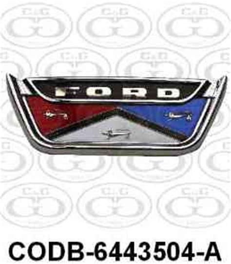 ford emblems ornaments 57 72 car list cg ford parts ford trunk decklid emblems ornaments 57 72 car list cg ford parts