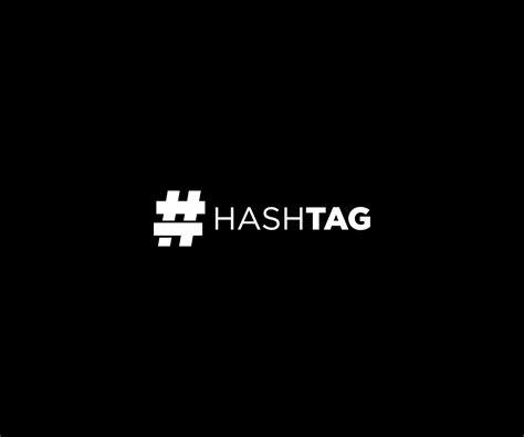 typography hashtags the gallery for gt hashtag logo design