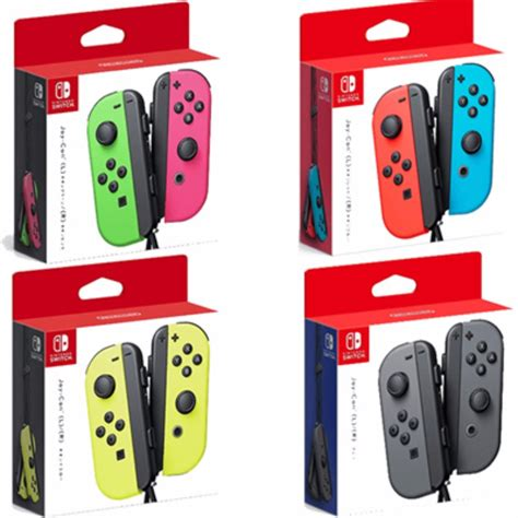 Nintendo Switch Con L R Yellow And Arms Murah nintendo switch joycons with 3 months warranty neon green pink neon yellow neon blue toys