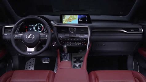 lexus rx 2016 interior 1280x720 wallpapers page 9