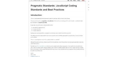 javascript layout best practices 23 ressources pour bien commencer ou progresser en