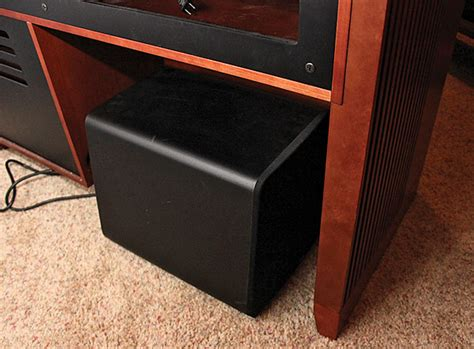 Subwoofer In Cabinet the cabinet the subwoofer sound vision