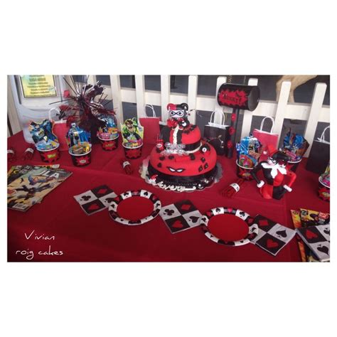 harley quinn themed birthday party 20 best images about harley quinn bday on pinterest set