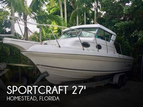 boats for sale homestead florida for sale used 2003 sportcraft 272 sportfish in homestead