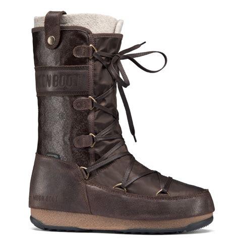 moonboot moon boots monaco mix brown waterproof