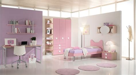 purple pink bedroom colorful super kids room furniture from pentamobili bedroom design ideas interior