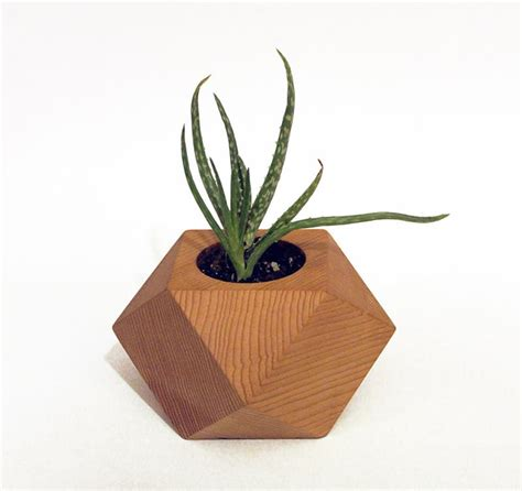 Plant Holder - refresh your space with a modern wooden flower pot