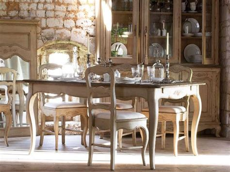 french country dining room table  chairs