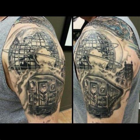 murda ink tattoo queens 233 best train tattoo images on pinterest train tattoo