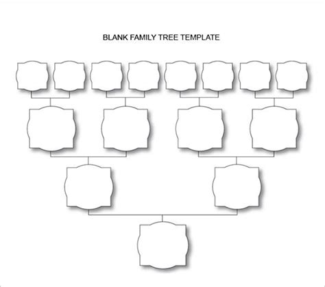 Value Tree Template by Value Tree Template Image Collections Template Design Ideas