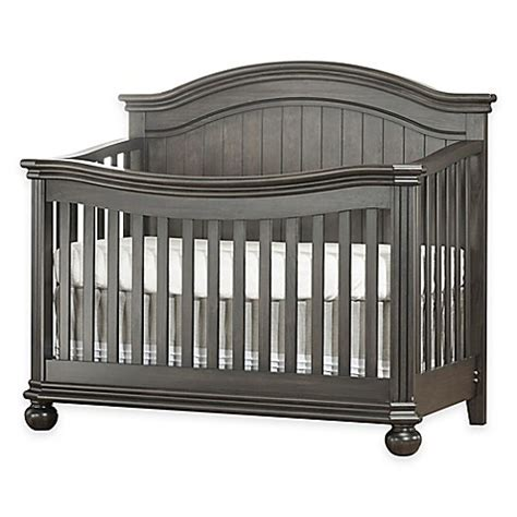 Grey Baby Cribs Sorelle Finley 4 In 1 Convertible Crib In Vintage Grey Buybuy Baby