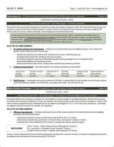 accounting resume exle distinctive documents