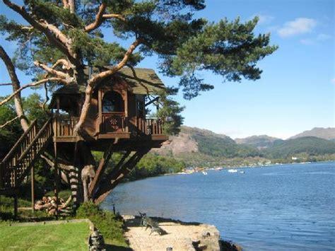 Treehouse Holidays Scotland - 5 places to have a wonderful treehouse honeymoon
