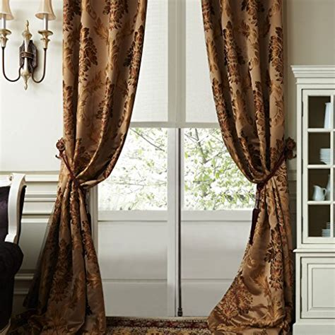 heavy jacquard curtains iyuegou luxury european style jacquard silky heavy fabric