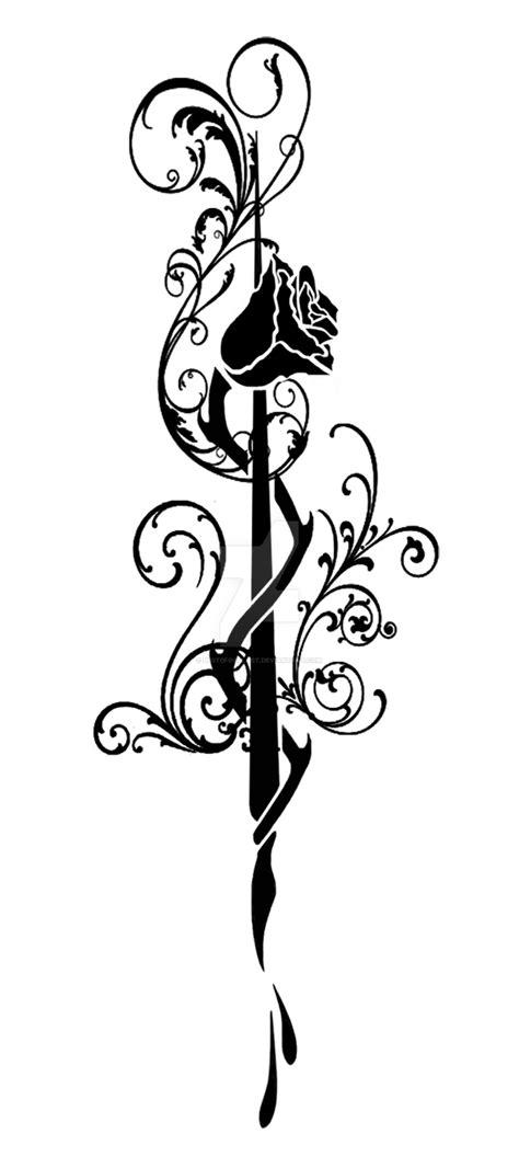 pen ink tattoo by labinnak on deviantart rose quill pen tattoo by best0for0last on deviantart