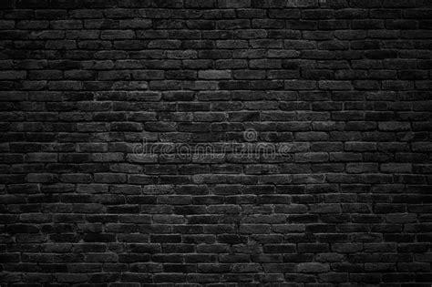 black brick wall photo free download black brick wall dark background for design stock image