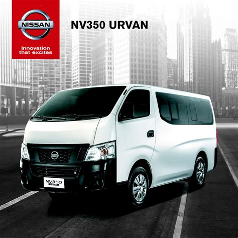 urvan nissan nissan formally launches nv350 urvan w brochure
