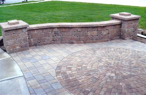 Paver Patio by Patios Walkways Viking Bros Landscaping