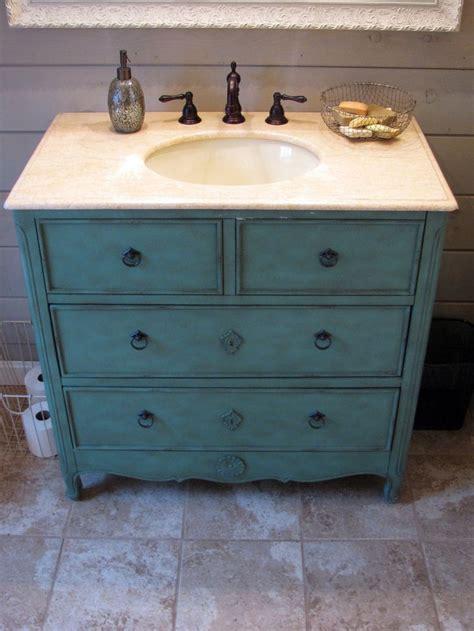 Repurposed Bathroom Vanity 1000 Ideas About Dresser Bathroom Vanities On Bathroom Vanities Vanities And