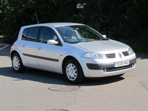 renault megane 2005 used renault megane 2005 petrol silver manual for sale in