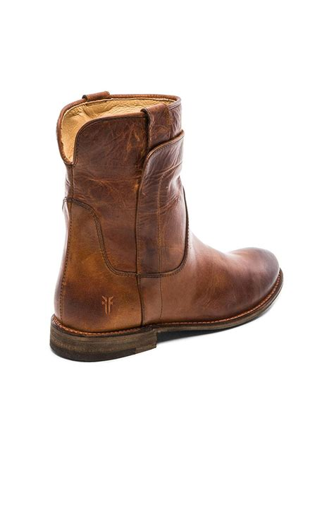 frye boot lyst frye boot in brown