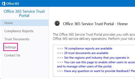 Office 365 Trust Portal Microsoft Announces Office 365 Service Trust Portal About