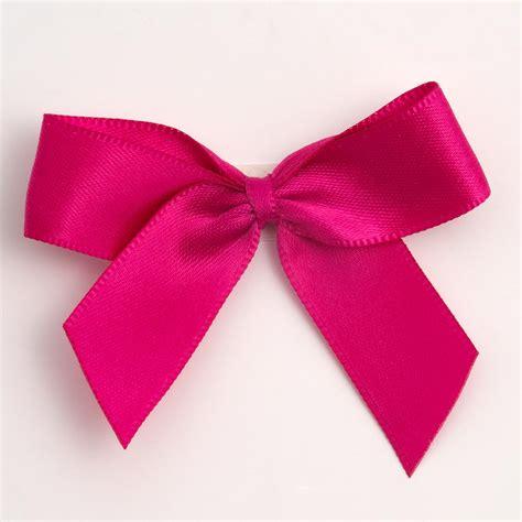 hot pink self adhesive satin ribbon satin bows favour this