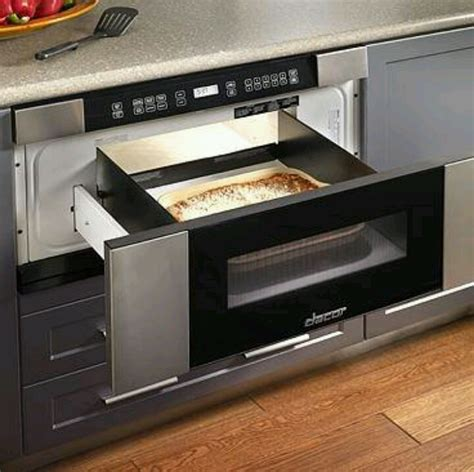 stainless steel microwave drawer for home