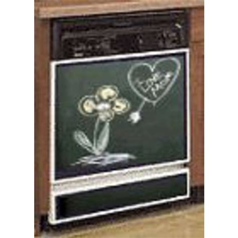 copper appliance frame panel set by stainless crafts chalkboard dishwasher panel kit by stainless craft