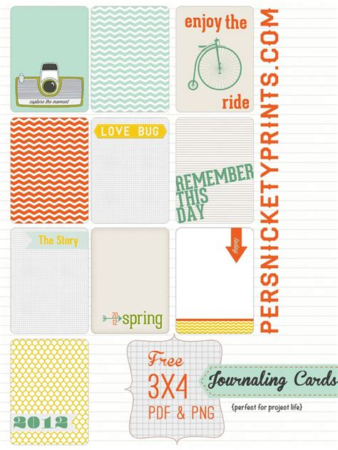 3x4 cards template freebie quot 3x4 project journaling cards quot by