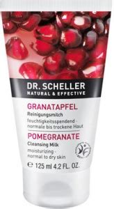 Test Pomegranate Detox by Cleansing Milk Pomegranate Dr Scheller D 233 Maquillant