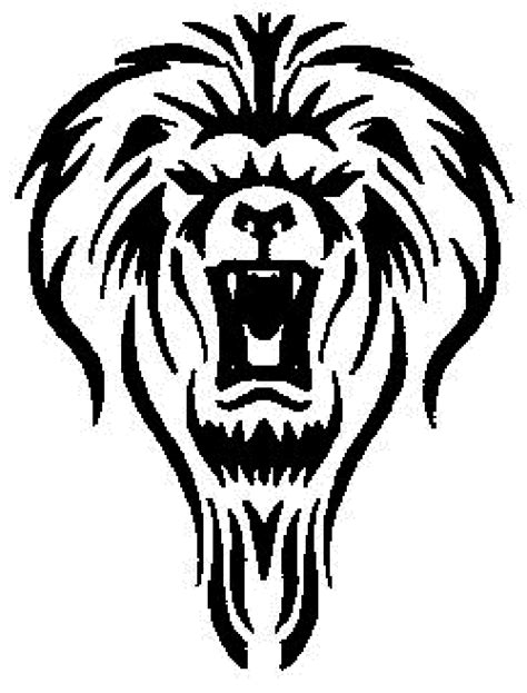 tattoo designs black and white black and white leo tattoos design