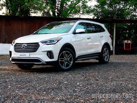 2018 Hyundai Santa by Hyundai Santa Fe 2018 Se Presenta Autocosmos