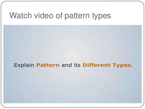 segmental pattern in casting video mp casting