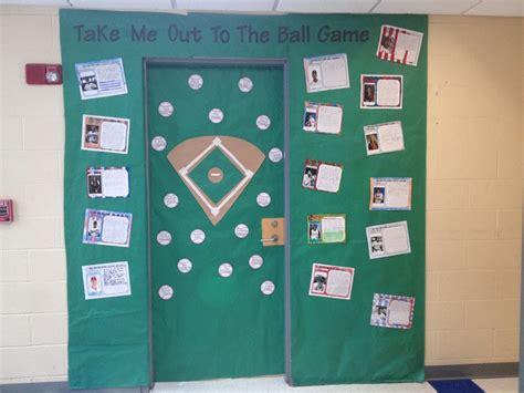 sports themed door decorations baseball classroom door sports theme
