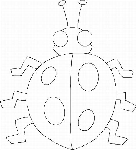 4 best images of bug preschool printables insect action