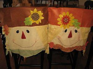 Fall Chair Covers by Fall Autumn Decor Boy Scarecrow Chair Covers On Popscreen