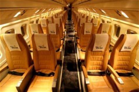 Fokker 50 Interior by Home Aviastra Flight Charter Ltd