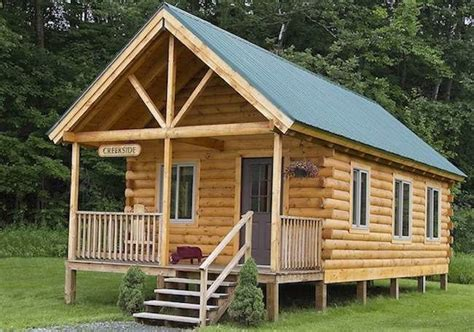 low cost tiny homes log cabin kits 8 you can buy and build bob vila