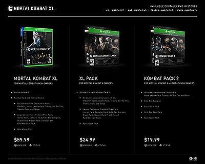 Kaset Bd Ps 4 Mortal Kombat Xl Pack 1 mortal kombat x mortal kombat secrets