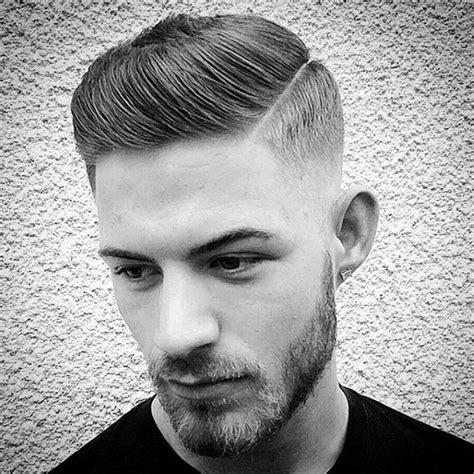 white boy comb over skin fade haircut for men 75 sharp masculine styles